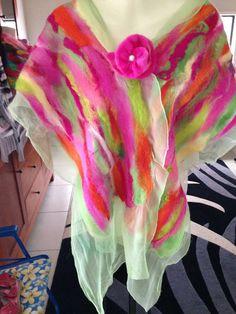 SALE nunu felted shawl