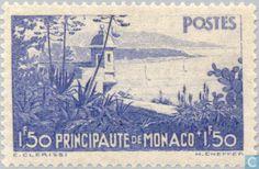 Monaco - Landscapes of the Principality 1937