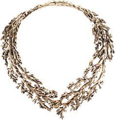 Aurelie Bidermann, Aphrodite Necklace in Gold Metal