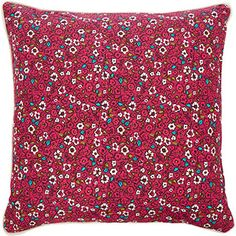 Red Floral Scatter Cushion