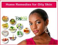 Home remedies voor de vette huid