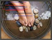 Du hast nach label / Health and Beauty - Crafty Little Gnome gesucht Foot Detox Soak, Foot Soak Recipe, Pedicure At Home, Antioxidant Serum, Leg Cramps, Bath Recipes, Foot File, Juicing For Health