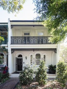 Terraced House, Victorian Terrace House, Victorian Homes, Victorian Townhouse, Victorian Interiors, Architecture Antique, Residential Architecture, Classical Architecture, White Exterior Houses