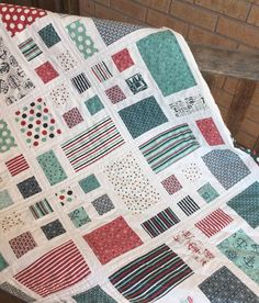 Patchwork Quilt Pattern using Layer Cakes or Fat by sweetjane Layer Cake Quilt Patterns, Lap Quilt Patterns, Heart Quilt Pattern, Layer Cake Quilts, Jelly Roll Quilt Patterns, Layer Cakes, Quilting Ideas, Simple Quilt Pattern, Modern Quilting