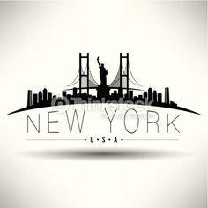 New York City Design Clipart vectoriel 177572118