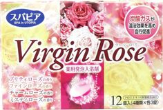 SPA in UTOPIA Fizzing Bath Tablets ~ Virgin Rose set $6.85 http://thingsfromjapan.net/spa-in-utopia-fizzing-bath-tablets-virgin-rose-set/ #Japanese bath item #health & beauty #Japanese health product