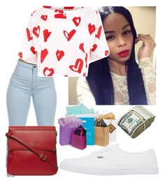 """""""On a mission."""" by queenboldon ❤ liked on Polyvore featuring Être Cécile, Vans and Fiorelli"""