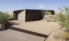 Desert Home and Courtyard Blend Seamlessly with Landscape | IKEA Decoration