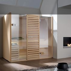 Sauna SKY TECHNO  Dettaglio Stufa Cromoterapia | Effegibi: Sauna Sky |  Pinterest | Saunas And Lights