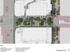 1111 Lincoln Road by Raymond Jungles « Landscape Architecture Platform Masterplan Architecture, Landscape Architecture, Landscape Design, Urban Landscape, Paving Pattern, Glass Pavilion, Lincoln Road, Plan Sketch, Landscaping