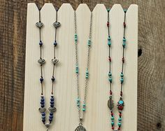 Multiple Necklace Display 18 x 10.75 high 4 by JimHarmonDesigns