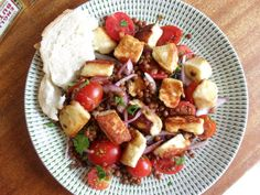 Homemade Lunch Ideas: Warm Halloumi and Puy Lentil Salad
