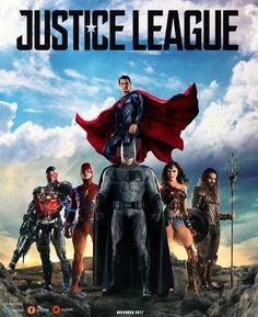Liga da Justiça (2017, Pôster).