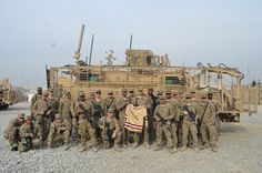 Fans near and far are wishing good luck to the BC hockey team as they start their drive tonight for the fourth straight Beanpot championship! This photo was sent in by defenseman Patrick Wey's cousin, Tyler, who is stationed in Afghanistan. (Stay safe, Tyler!) Go Eagles! We Are BC!