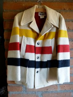 Love this Etsy listing at http://www.etsy.com/listing/122970350/vintage-woolrich-hudson-bay-style