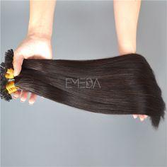 U tip Indian bonding hair extensions remy hair ext...</>