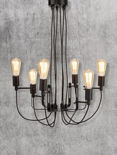 Buy It's About RoMi Iron Chandelier Black online with Houseology's Price Promise. Full Its About RoMi collection with UK & International shipping. Sputnik Chandelier, Black Chandelier, Pendant Lamp, It's About Romi, Furniture Making, Furniture Decor, Furniture Design, Seattle, Lustre Metal