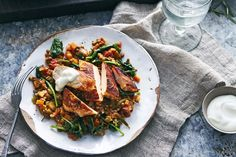 Green it up with this tasty, lentil-licious all-in-one meal
