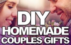 Please rePIN! These are awesome homemade ideas for couples