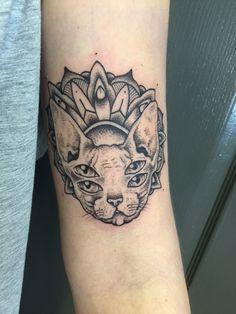 Holly's new tattoo.