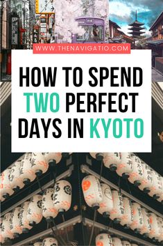 Best things to do in Kyoto when visiting for 2 days. This travel itinerary shows you how to spend two days in Kyoto in Japan Tokyo Japan Travel, Japan Travel Tips, Kyoto Japan, Asia Travel, Japan With Kids, Kyoto Itinerary, Adventure Activities, Japanese Geisha, Japanese Kimono