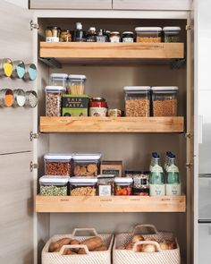 Small kitchen spaces can be tough to keep organized, but don't let a cramped space get you down! These storage ideas will help you maximize your space and create a better kitchen. Optimize Your PantryMake the most out of your pantry space by organizing your groceries. Keep a rotation of your cereals, dry goods, and spices, so that you're not adding clutter to your shelves with expired items.Find more pantry solutions from the Martha Stewart Living collection at The Home Depot.