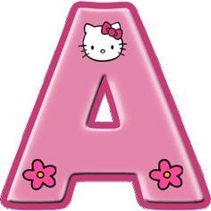 – Oh my Alfabetos! Hello Kitty alphabet with large letters. – Oh my Alphabets! Hello Kitty Rosa, Hello Kitty Themes, Pink Hello Kitty, Kitty Images, Hello Kitty Pictures, Hello Kitty Invitation Card, Hello Kitty Birthday Theme, Anniversaire Hello Kitty, Hello Kitty Iphone Wallpaper