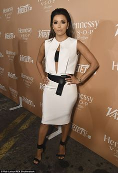 12cba56f0e Chest a glimpse: Eva Longoria kept up with appearances at the 10 Latinos To  Watch
