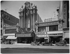 The Los Angeles Theatre, S. Broadway, Los Angeles (opened Jan. 1931)