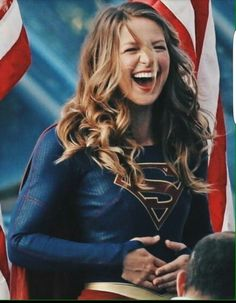 Melissa Benoist as Supergirl Melissa Marie Benoist, Melissa Supergirl, Supergirl Tv, Supergirl And Flash, Kara Danvers Supergirl, Batman Begins, Marvel Dc, Series Dc, Dc Comics