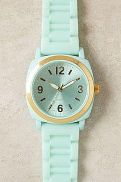 anthropologie Mint Watch