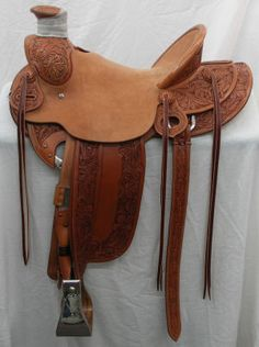 Ryons John Burge Maker Roping Saddle For Sale For More
