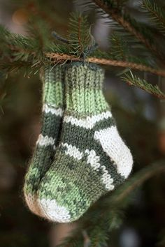 I will hang a tiny pair of socks on my Christmas tree to represent any and all grandchildren the Good Lord gives me.