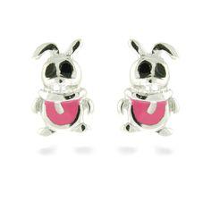 Rabbit earrings by Luxenter