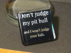 Don't Judge My Pit Bull