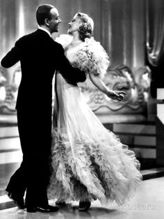 Swing Time, Fred Astaire, Ginger Rogers, 1936 Photographie