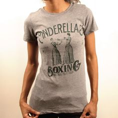 Cinderella's Boxing...love this workout T! Too funny! :)