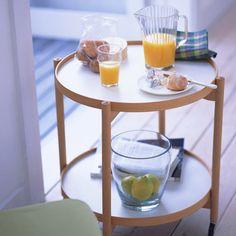 La fórmula del desayuno perfecto: un buen pan, un zumo con vitaminas, café... y una mesita auxiliar con encanto.  #desayuno #cafe #zumo #mesa #mesita #mesabaja #mesaauxiliar #deco  http://elmercadodemaria.com/comprar-mesas-auxiliares/