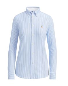 RALPH LAUREN Polo Ralph Lauren Striped Knit Oxford Shirt. #ralphlauren #cloth #