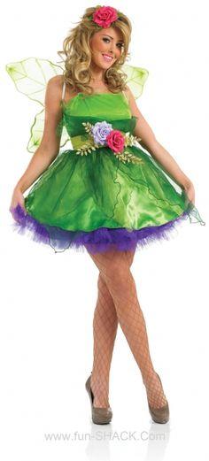 Fairy Nymph Fancy Dress Costume Fun Shack