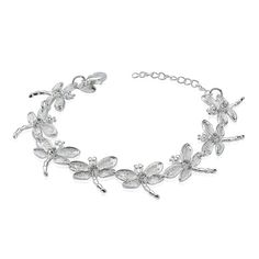 2016 New design Dragonfly jewelry wholesale 925 sterling silver chain bracelet, View 925 sterling silver dragonfly bracelet, RELLECONA Product Details from Shenzhen Xinfenghua Jewelry Co., Ltd. on Alibaba.com