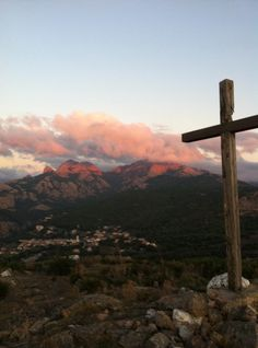 Corse Celestial, Sunset, Mountains, Nature, Travel, Outdoor, Corse, Photography, Voyage