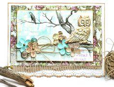 Owl card by Jennifer