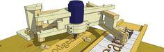 planes de pantógrafo 3-D