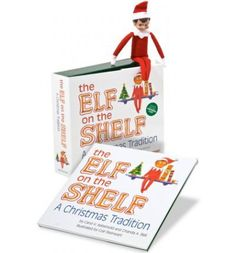The Elf on the Shelf: A Christmas Tradition™ is an activity the entire family will enjoy. Based on the tradition Carol Aebersold began with her family in the 1970s, this cleverly rhymed children's book explains that Santa knows who is naughty and/or nice because he sends a scout elf to every home. During the holiday season, the elf watches children by day and reports to Santa each night.