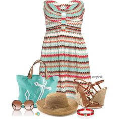 Wishing for a Beach Day, created by exxpress on Polyvore