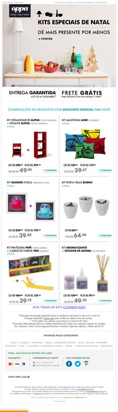 "E-mail Marketing: Sazonalidade - Natal ""clean"" | Oppa"