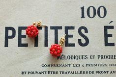 fraise des bois[野いちご] by hanae アクセサリー ピアス