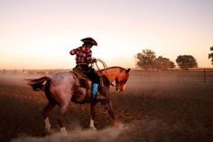 """""""I think I dreamed of being a cowgirl before I even knew what that was."""" –Rachel Smith Kindler"""