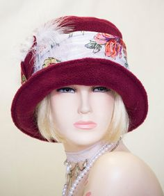 1920s Vintage Inspired  cloche Hat  Great Gatsby by aileens4hats, £25.00